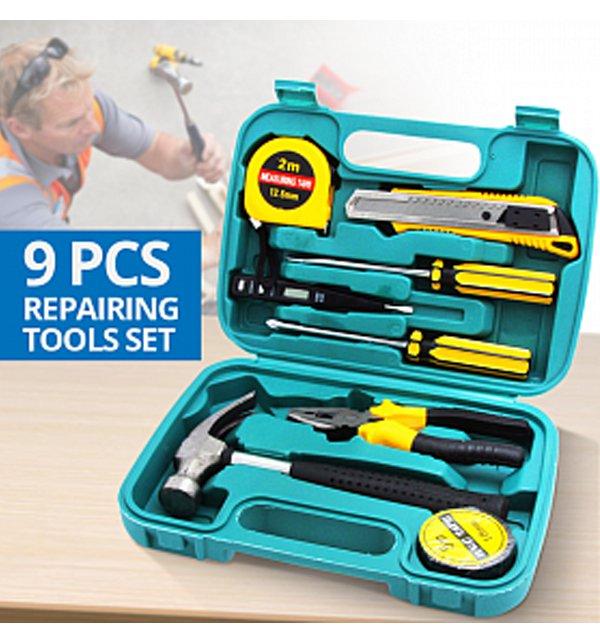 9 Pcs Repairing Tools Set