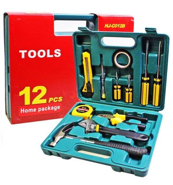12 Pcs Portable Repairing Tools Set