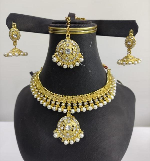 Women Wedding Necklace jewelary Set  (PS-188)