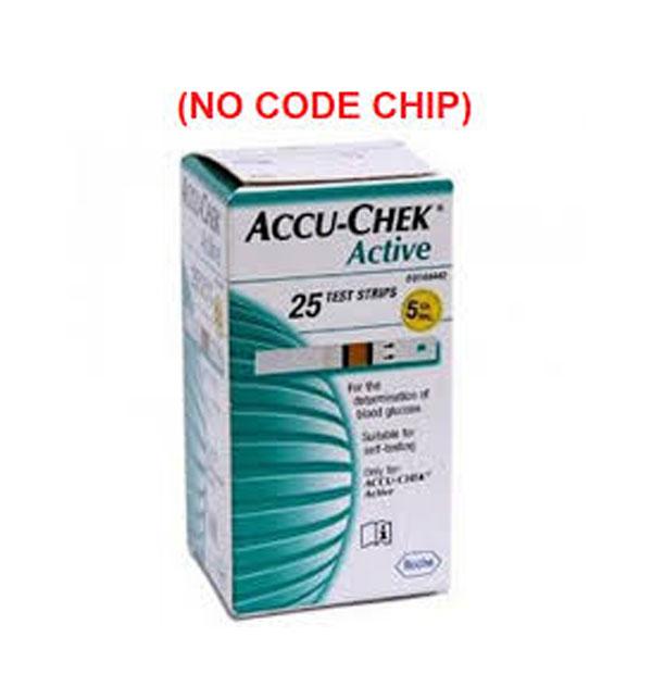 Accu-Chek Active - 25 Test Strips