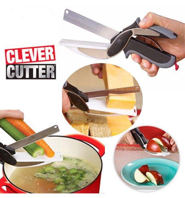 Clever Cutter 2 in 1 Knife & Cutting Board
