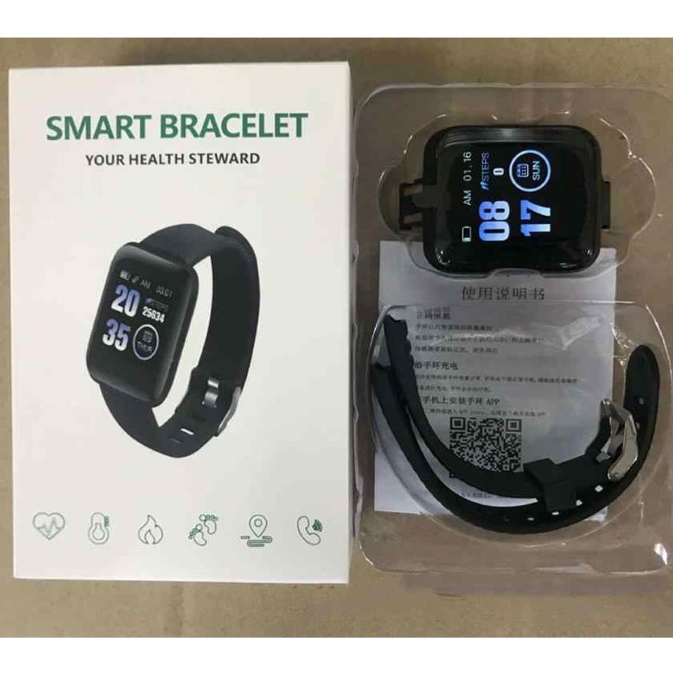 D13 Smart Watches 116Plus Heart Rate Watch Smart Wristband Sports Watches Smart Band Waterproof Smartwatch Andriod