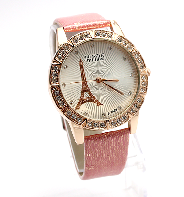 Eiffel Tower Analogue Watches For Women (CW-75)