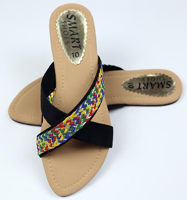 Fancy Women's Slipper - Black