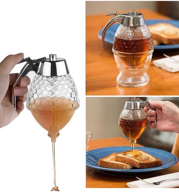 Honey Dispenser-Syrup Dispenser