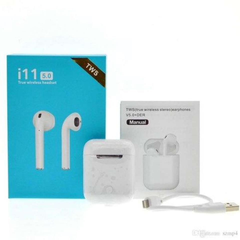 I11 Tws Double Mini Bluetooth 5 0 Touch Earphones Earbuds I11 Bluetooth Earbuds Earphones Price In Pakistan View Latest Collection Of Bluetooth Accessories