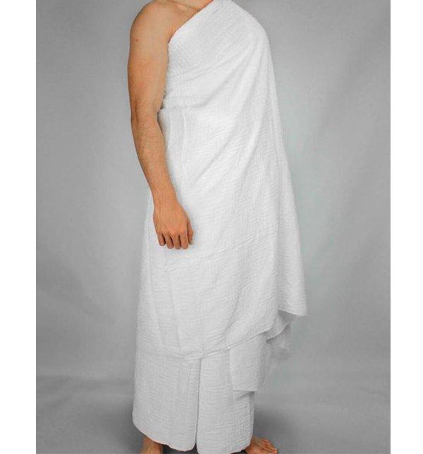Luxurious Quality 2 Piece Toweling Ihram Set