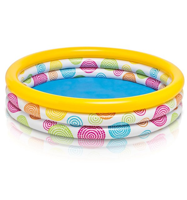 Intex Color Wave Three-Ring Wild Geometry Pool (43)