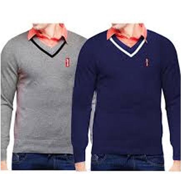Pack of 2 Full Sleeves Sweater